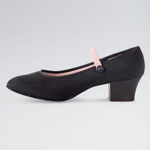 Zapatos de Carácter de Tela