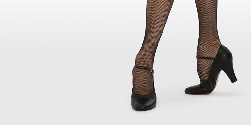 Zapatos de Carácter de Piel