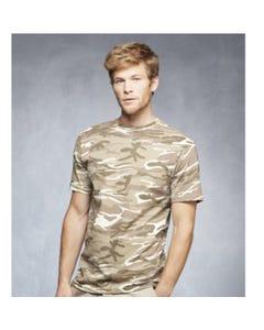 Camiseta de camuflaje para hombre
