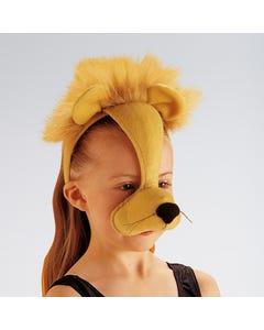 Máscara de león con sonido