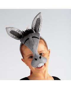 Máscara de burro con sonido