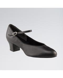 Capezio Zapato de Carácter con Suela de Ante Junior Footlight™