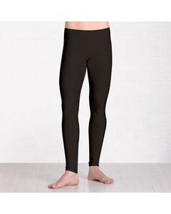 Pantalones de Licra brillante sin pies
