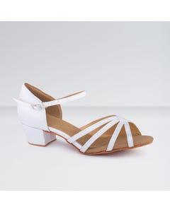 1st Position - Zapatos para Bailes de Salón de Satén con Tacón Bajo