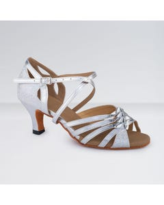 1st Position - Zapatos para Bailes de Salón de Poliuretano con Hebilla Brillante