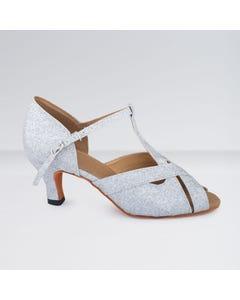 1st Position - Zapatos para Bailes de Salón de Cuero Sintético con Tira en T