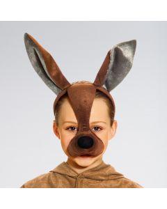 Máscara de canguro con sonido