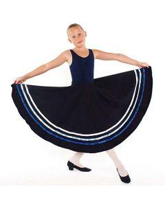 Falda de carácter (aprobada por la RAD)