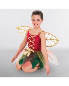Vestido de hada con alas (talla niña)