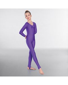 1st Position Claire Long Sleeved Catsuit