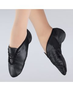 1st Position Zapato de Jazz de Cordones Flex