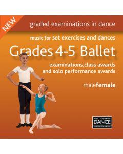 CD Ballet Grados 4-5 de RAD