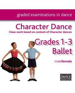 RAD Grades 1-3 Character CD