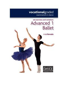 RAD Advanced 1 Masculino/Femenino Ballet Anotaciones