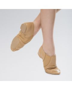 Revolution Zapatos de Jazz de Piel con Elásticos