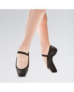 So Danca Premium Zapatilla de Ballet de Piel con Elástico y Suela Completa