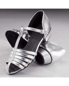 1st Position Silver Strip Shoes