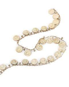 Tira con monedas doradas (10 m)