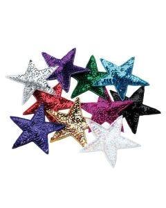Estrellas de lentejuelas