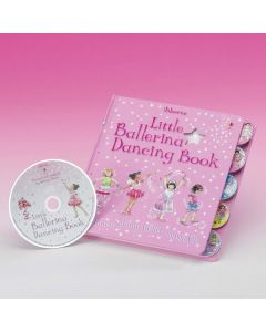"""Little Ballerina Dancing Book"" con CD"