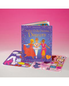 "Libro ""Sticker Dolly Dressing Dancers"""