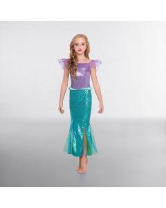 Disfraz de Sirena con Brillantina