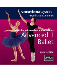 RAD Advanced 1 Masculino/Femenino Ballet CD