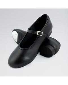 1st Position Zapatos de Claqué Piel Sintética con Hebilla