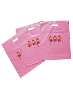 """Bolsas de plástico """"Pequeñas bailarinas"""" (x 50)"""