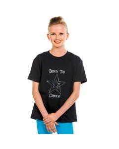 "Camiseta ""Born to dance"""
