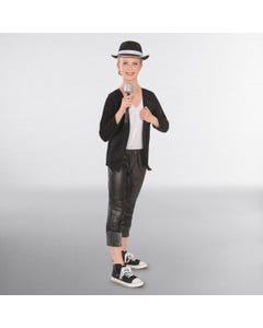 Disfraz de Rey del Pop (negro)